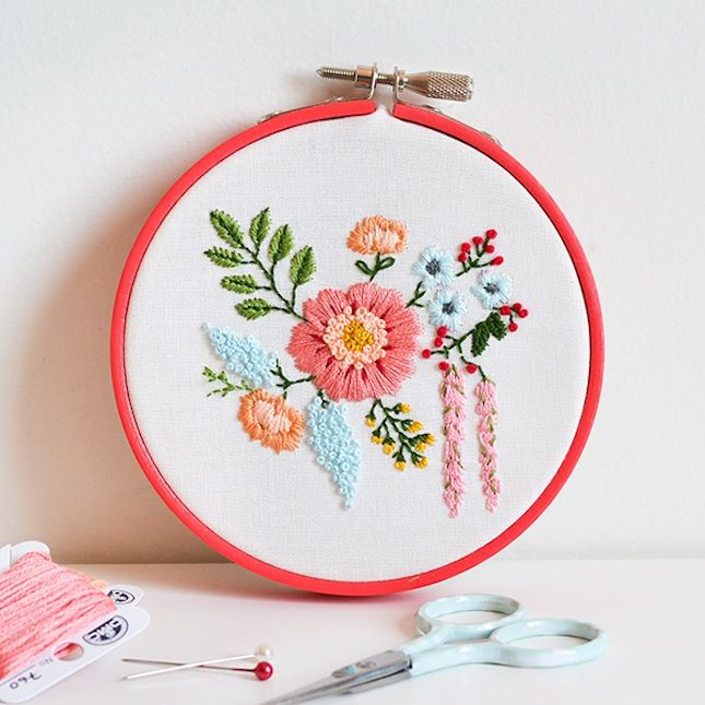 Best basic embroidery stitches ideas on pinterest