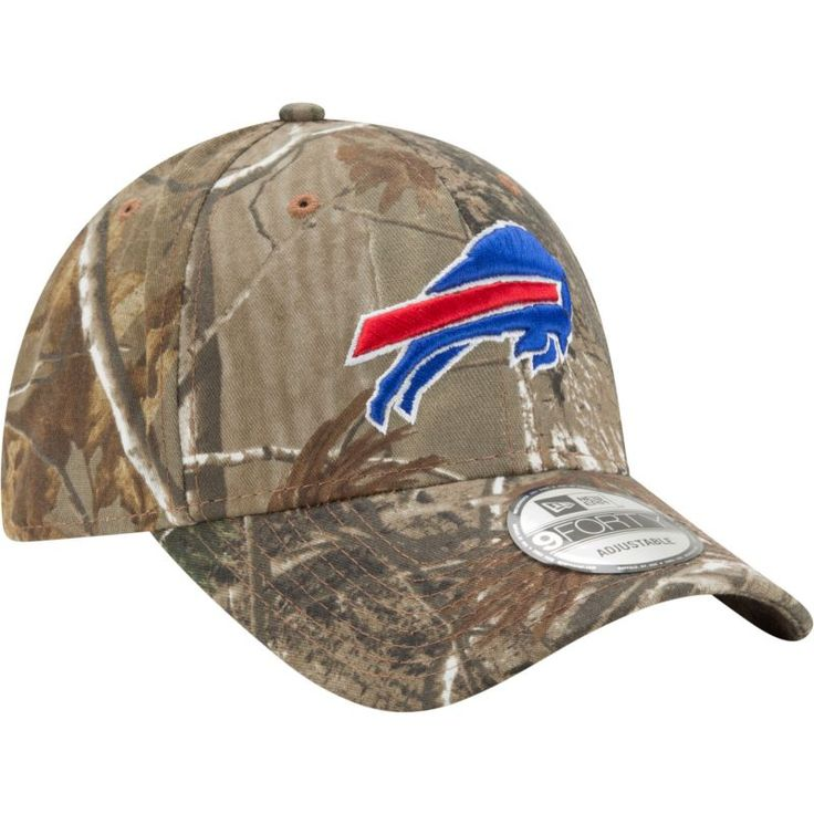 New Era Men's Buffalo Real Tree Camouflage Adjustable Hat, Team