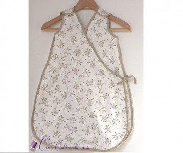 Patron de couture - Turbulette - gigoteuse pour bébé