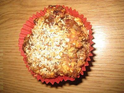 De Bakparade: Supergezonde Kokos-Rozijn Lijnzaad muffins