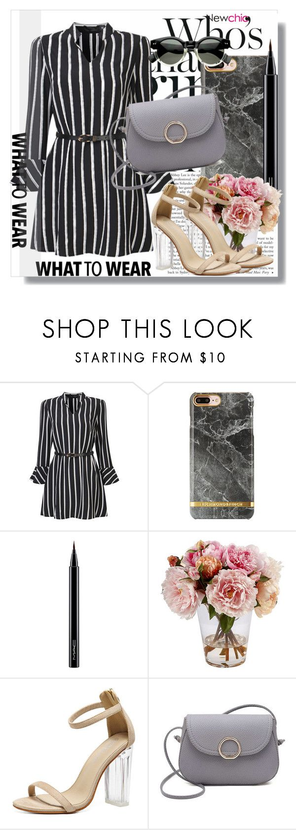 """""""Newchic Anniversary SALE !"""" by dianagrigoryan ❤ liked on Polyvore featuring MAC Cosmetics and Winward"""