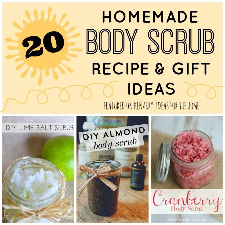 how to make sugar body scrubs at home