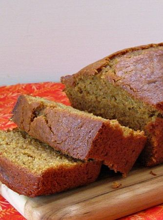 Gluten- Free Pumpkin Bread #recipe