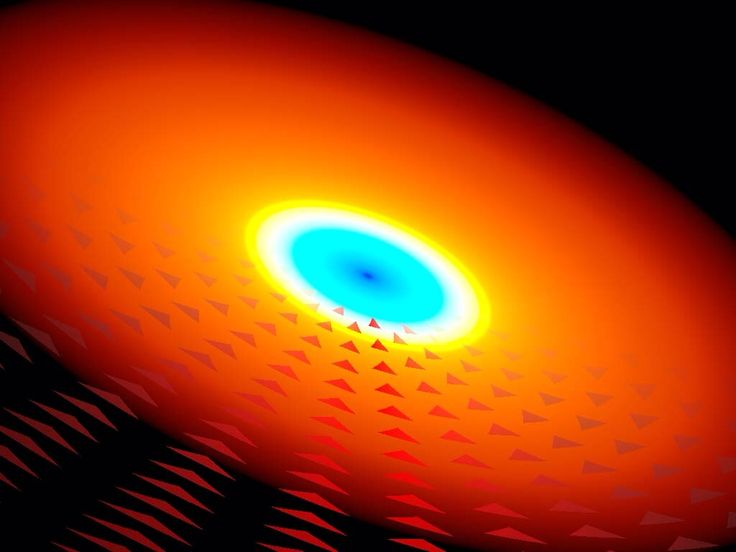 A new type of black hole quasar has been discovered. Credit YORK UNIVERSITY/PATRICK HALL