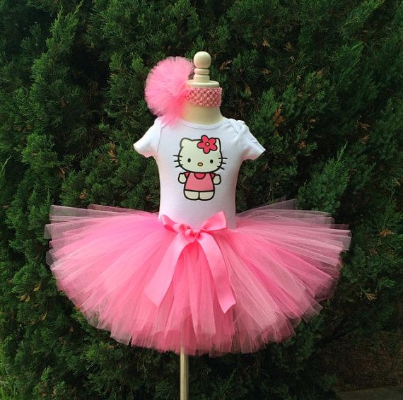 Hey, I found this really awesome Etsy listing at https://www.etsy.com/listing/189656309/hello-kitty-birthday-tutu-set-any-size