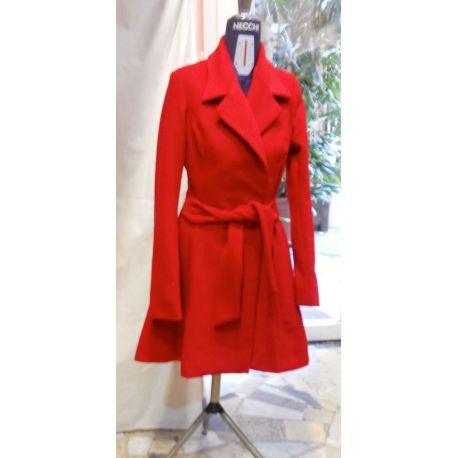 Cappotto rosso Lady R di Rosina Mosca