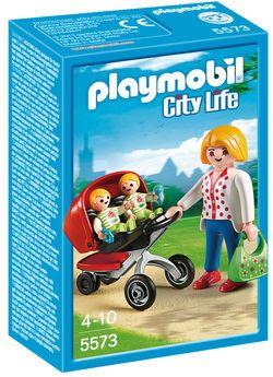 Playmobil Tweeling kinderwagen 5573