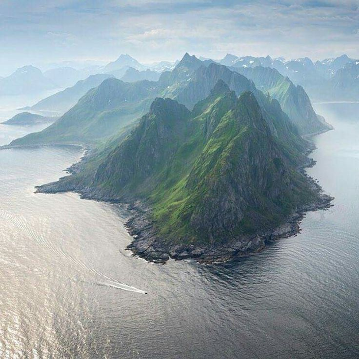 Island of Senja, Norway. Photo by Andre Ermolaev
