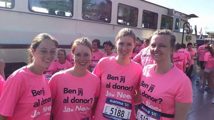 Maastricht Mooiste 5 km. Ben jij al donor? Eén donor kan 8 levens redden. Toch zijn er in Nederland slechts 3,5 miljoen mensen donor. Acties zoals de donorrun zorgen voor meer aanmeldingen en daar ben ik graag onderdeel van. Dit jaar ga ik de 10 kilometer rennen.