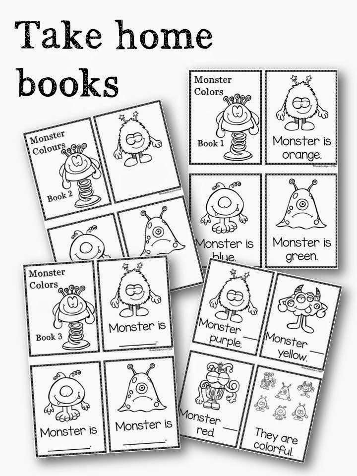 Best Monsters Images On Pinterest  Preschool Activities For