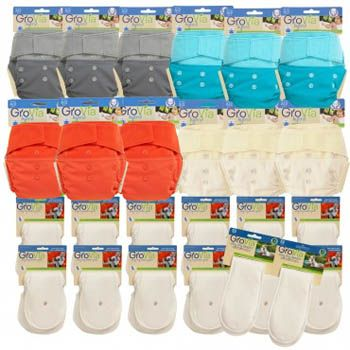 GroVia Live cloth diaper package - Cloth Diapers Canada