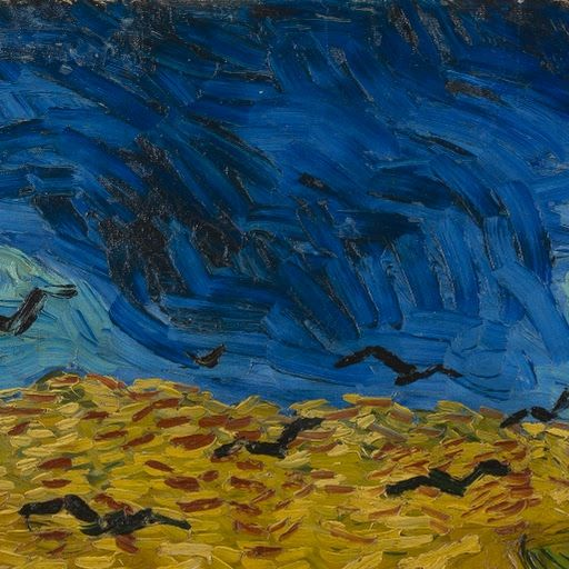 Wheatfield with Crows - Van Gogh Museum