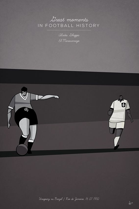 Great Moments in Football History Illustration Series