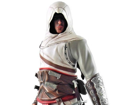 Assassins Creed — Altair Collectible PVC Statue, Кредо убийцы — Альтаир, коллекционная статуэтка