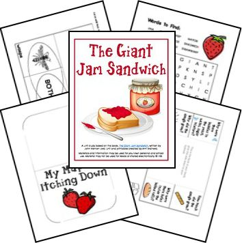 giant jam sandwich coloring pages - photo#8