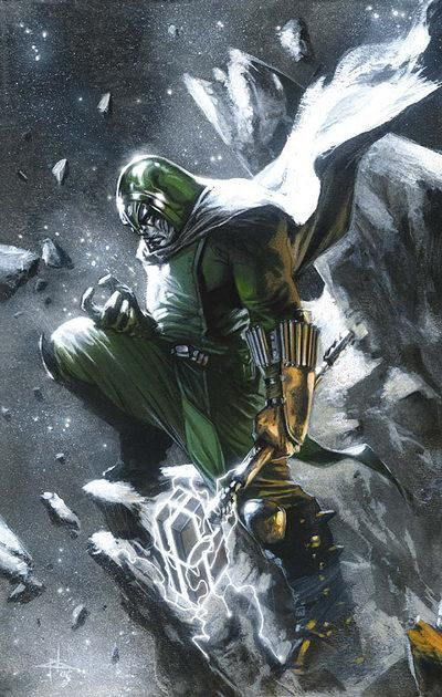 Ronan the Accuser by Gabriele Dell'Otto - #guardiansofthegalaxy #marvelcinematicuniverse #kurttasche