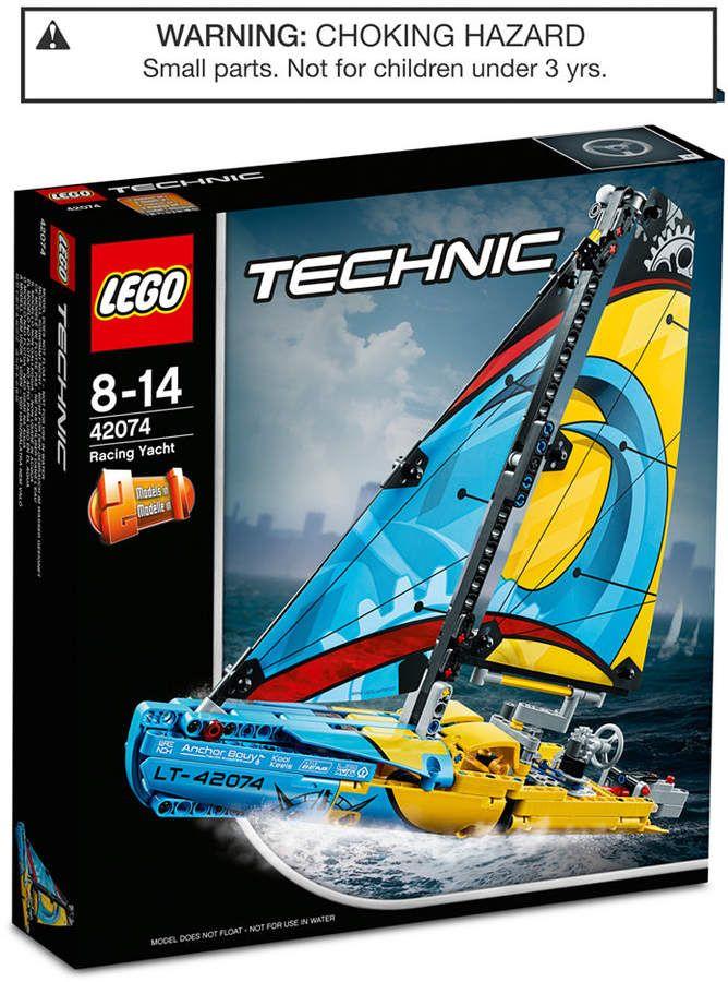 Racing Yacht 42074 Colorschemeblue Science Games Fans Lego