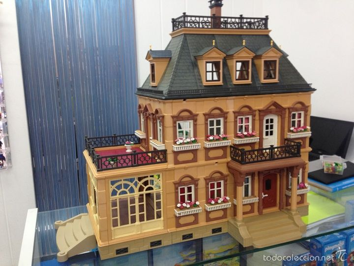 Casa victoriana 5300 foto 1 coleccion playmobil for La casa de playmobil