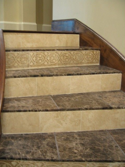 Tile stairs related keywords suggestions tile stairs - Stairs with tile and wood ...