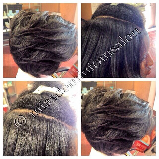 Best Dominican Roller Set Natural Hair Salon Atlanta