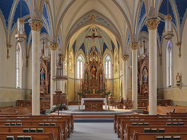 I may not be Catholic, but they have the most wonderful churches. St. Peter's in Jefferson City