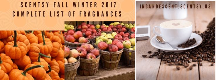 Scentsy Fall Winter 2017 2018 | New Scent Bars! Apple & Cinnamon Stick Orange Clove Pomander Love and Happiness Holly Berry Cinnamon Spiced Fruit Cider Sweet Cream Spice Homestead Holiday Gingerbread Donut Painted Leaves Hug in a Mug