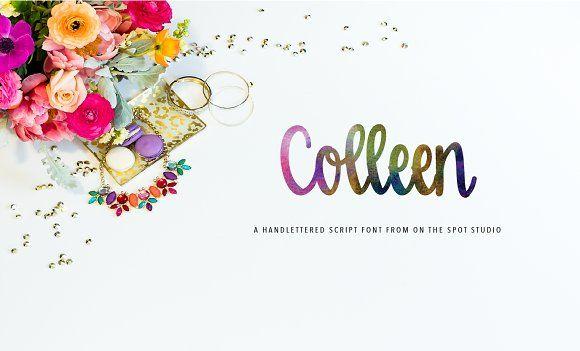 Colleen by OnTheSpotStudio on @creativemarket