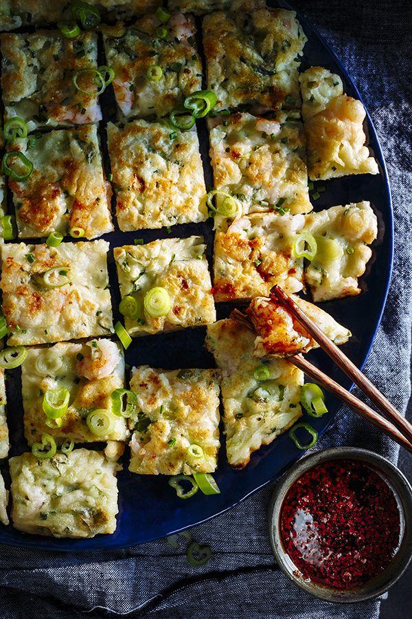 recettes.coree.pajeon.crevettes.article