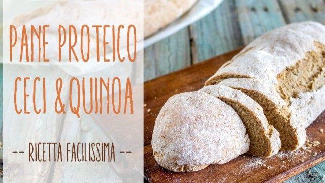 La #ricetta per preparare un buonissimo pane proteico #vegan #light #salute