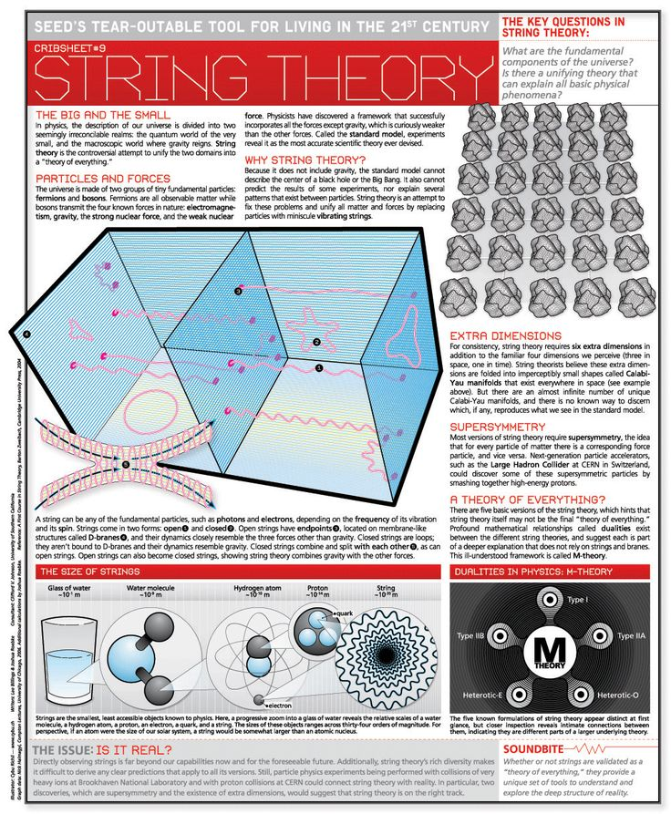 String Theory | Infographic Pins