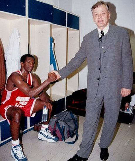 Olympiacos won its first Euroleague basketball title in 1997, featuring legendary coach Dusan Ivkovic and US play-maker David Rivers.