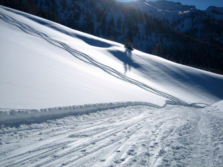 Sporen in de sneeuw, Pertisau