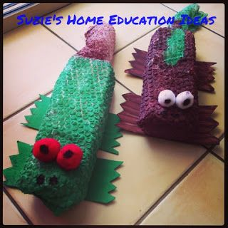 Suzie's Home Education Ideas: 9 Australian Animal Crafts
