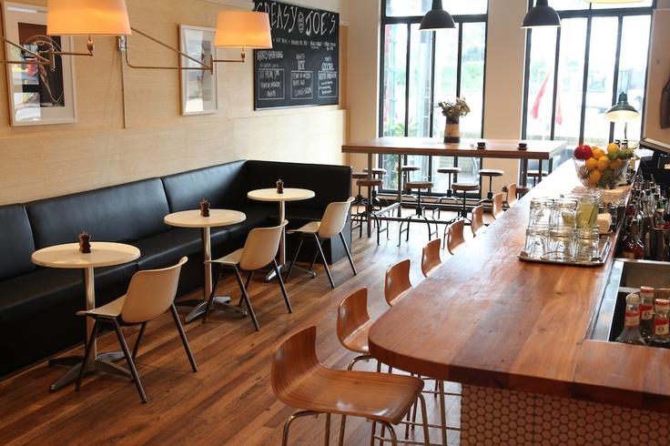 Joe's Bar & Dining Hall... The newly renovated Joe's