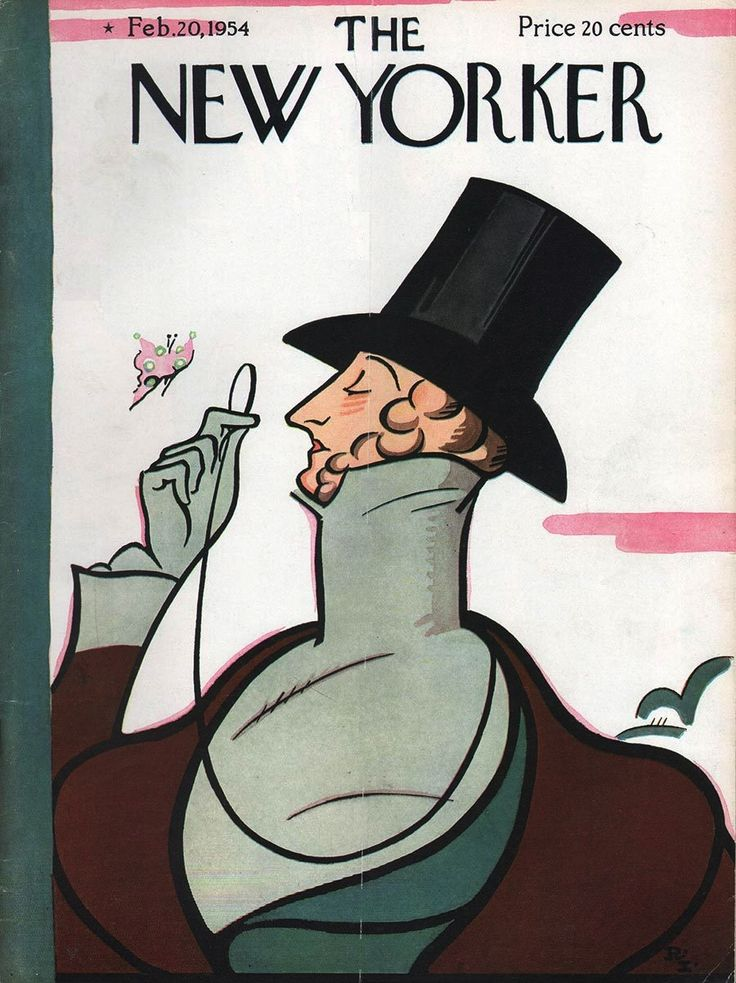 1954 New Yorker April 17- Easter Egg Coloring Party