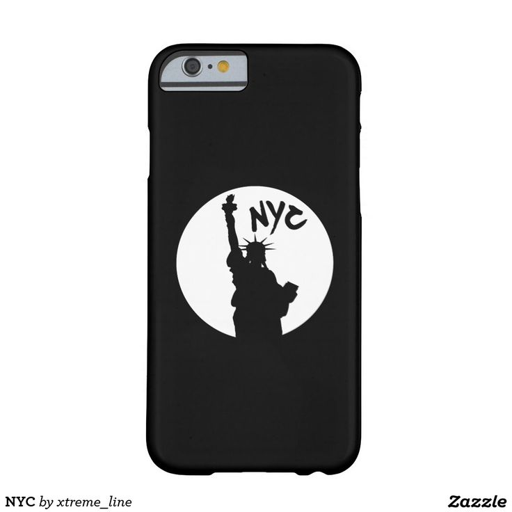 NYC Liberty Barely There  iPhone 6 Case.