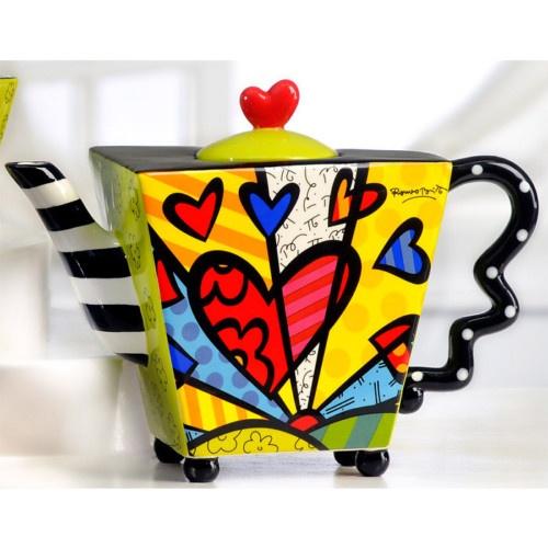 teapot by romero britto @JanTucker