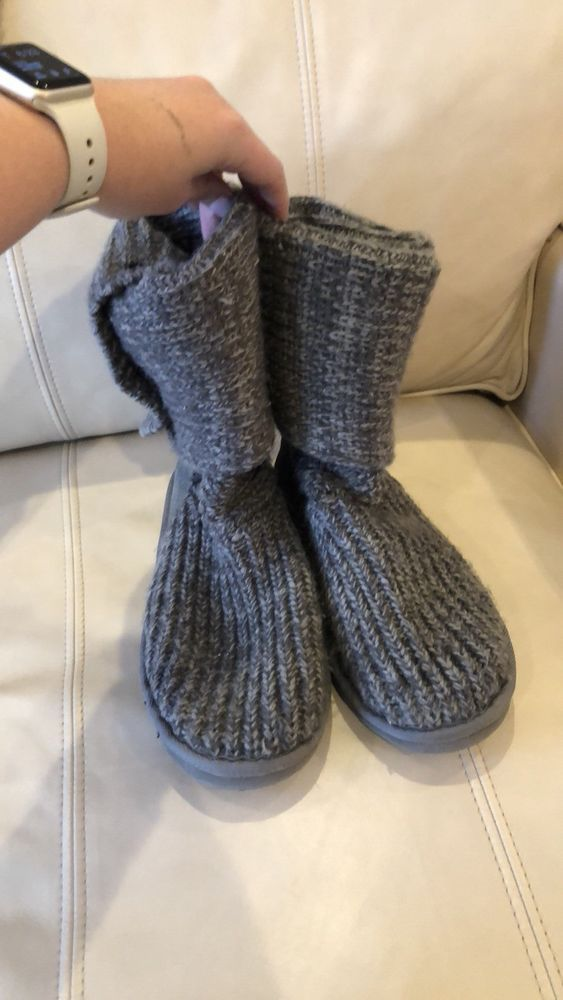 7b0c4dbf1330 Ugg Classic Cardy II Knit Boot Women Size 9 Pre-owned Good Condition  Authentic  fashion  clothing  shoes  accessories  womensshoes  boots (ebay  link)