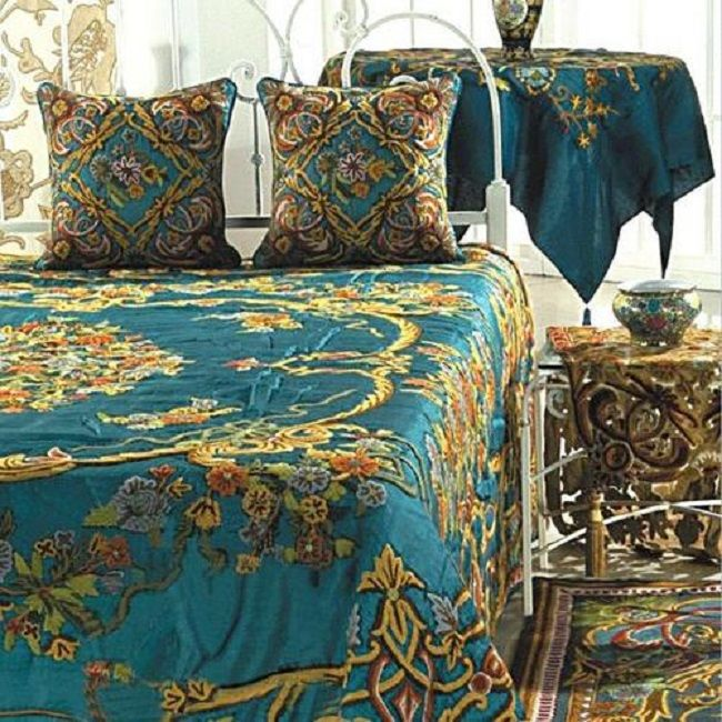 1000 Images About Fab Bedding On Pinterest Jacobean