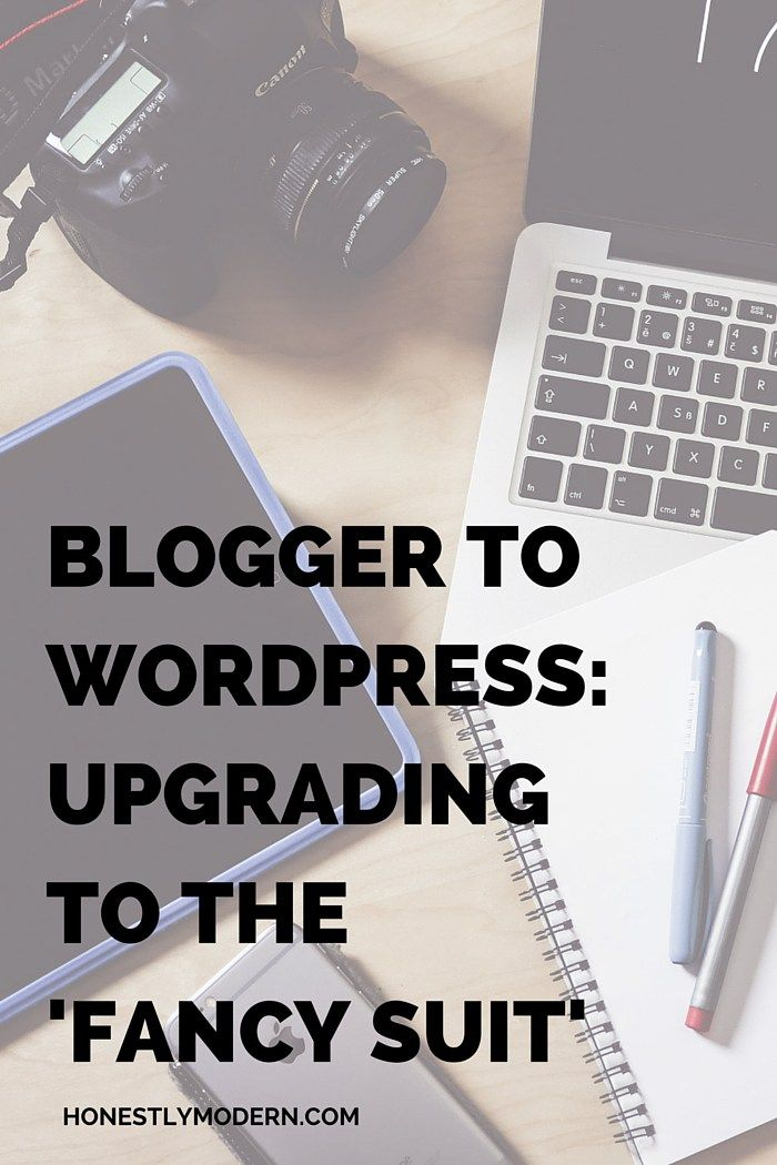 """Blogger To WordPress: Upgrading To The """"Fancy Suit"""" // lookingfordawn.com"""