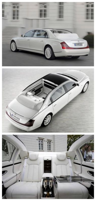 10 of the Most Expensive Limos in the World! Find out why the $1.4 million Maybach Landaulet. #spon #luxury