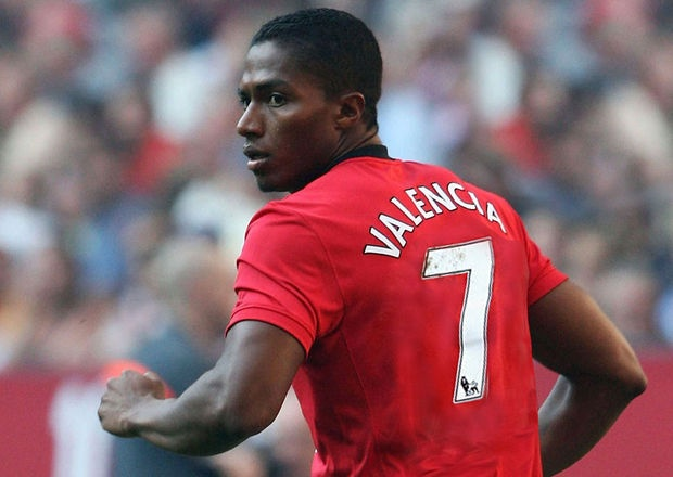 Manchester United's latest No.7 - Antonio Valencia
