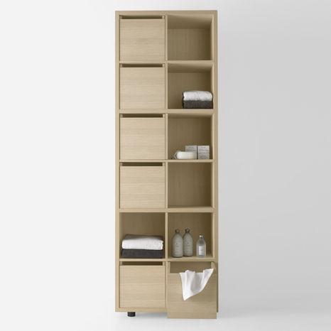 meuble colonne de salle de bains KONTE - MOB045V by L. Lanzi AGAPE
