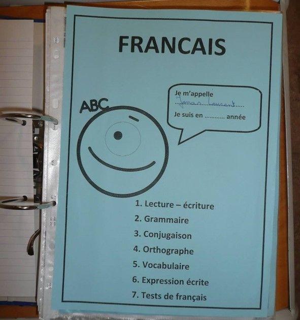 Classeur français