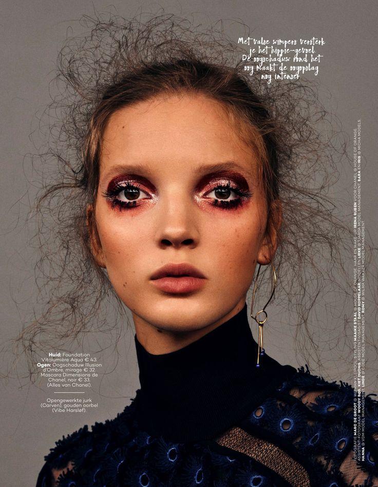 Magazine: Glamour Netherlands September 2016 Photographer: Marc de Groot Model…