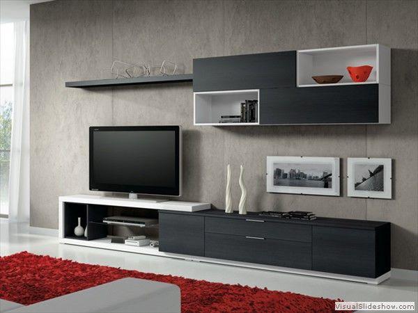 1439 besten tv wall units bilder auf pinterest. Black Bedroom Furniture Sets. Home Design Ideas