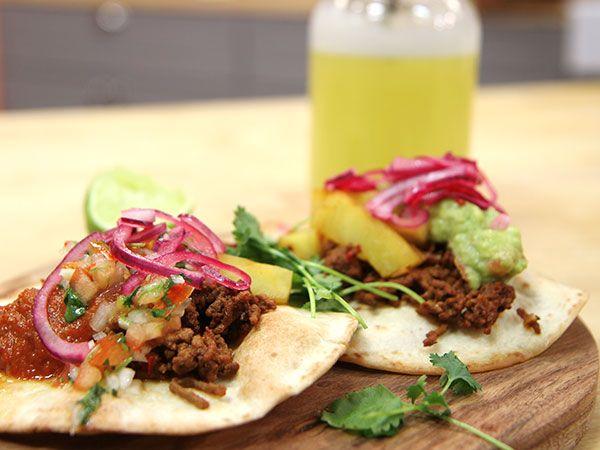 Mexikansk tacos | Recept från Köket.se