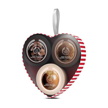 Treat your sweetheart to a trio of gorgeous mini Body Butters in some of our favorite nutty flavors. The cute box makes it a great stocking filler