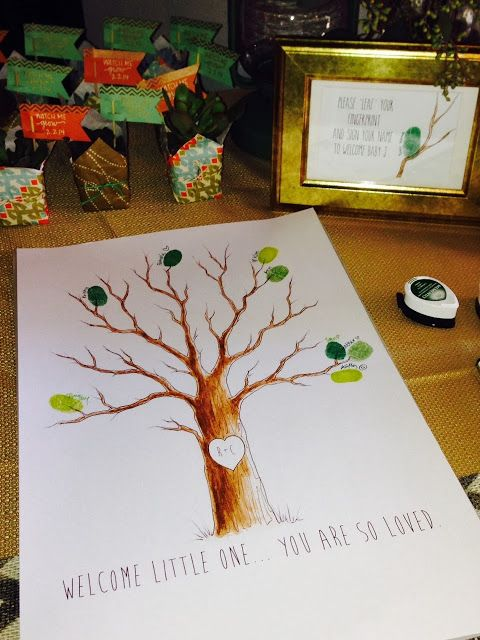 CherJoy: Arizona Patio Baby Shower Succulents Woodland Creatures