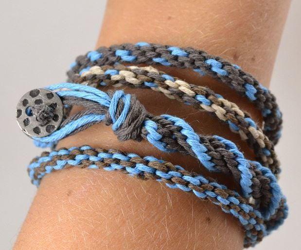 Hemp Kumihimo Bracelet Tutorial | AllFreeJewelryMaking.com